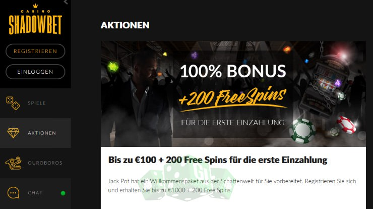 Slot bonus am 268186